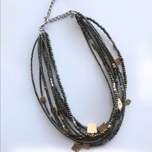 """Jewelry - Seed bead 18"""" necklace multi colored"""